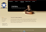 Northwest Florida Paralegal Association Website Screenshot