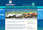 Pensacola Beach Shopping Website Screenshot